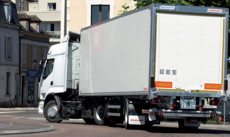 Fruehauf city trailer box