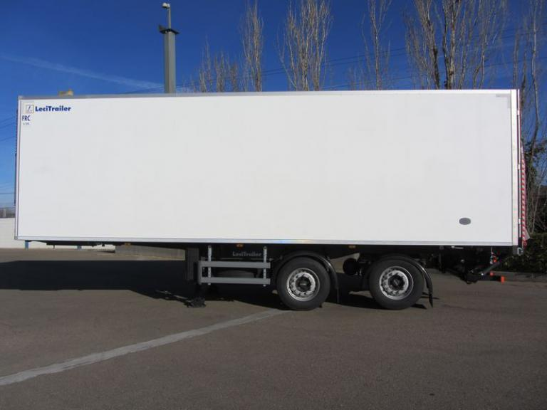 Lecitrailer city trailer box