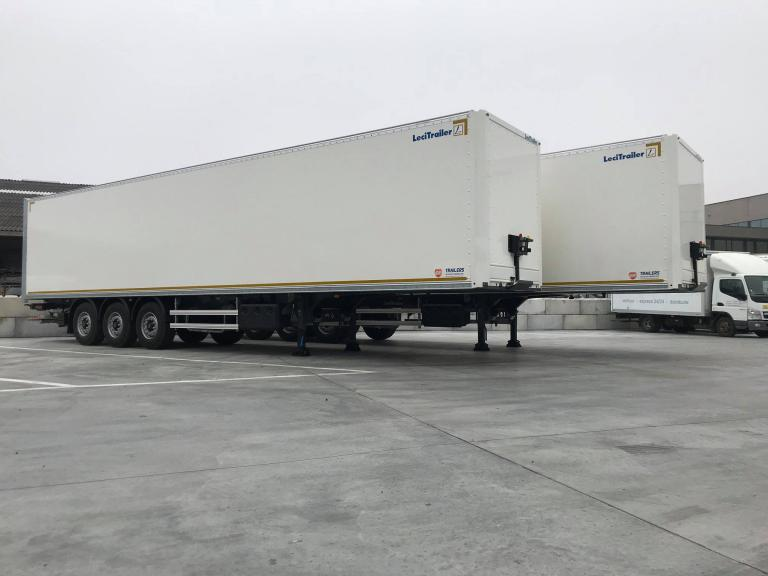 Lecitrailer boxtrailers custom made