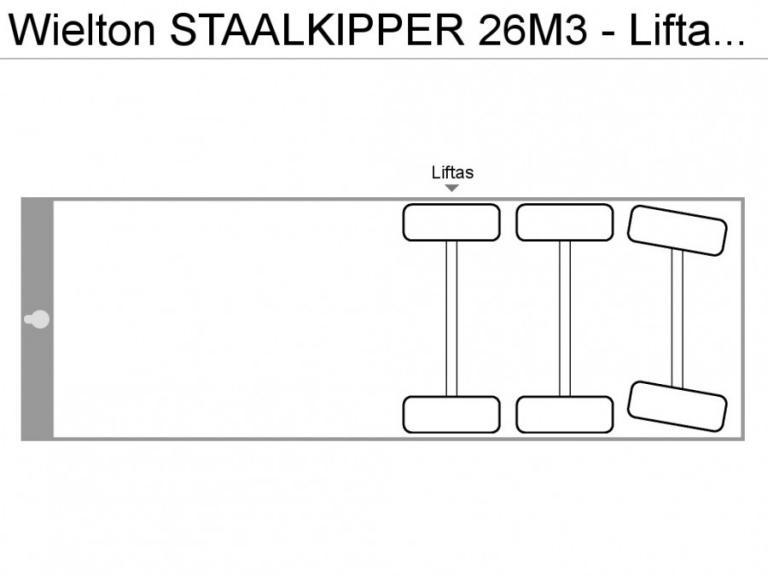 Stock Wielton staalkipper